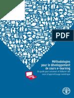 Méthodologies pour le développement de course-learning