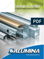 catalogo perfiles de aluminio de Alumina