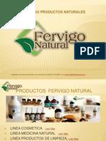 Dic. Catálogo Fervigo Natural