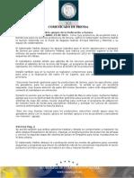 23-04-2013 El Gobernador Guillermo Padrés en entrevista comentó respecto a la reunión que sostuvo con el titular de SAGARPA Federal, Enrique Martínez, en la ciudad de México, y destacó los apoyos de la Federación a Sonora. B0413112