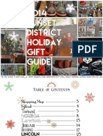 Sunset District Holiday Gift Guide 2014