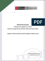 MU Modulo Logistica Web