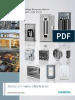 Catálogo de Equipo Eléctrico Para La Construcción Siemens