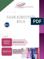 Cade Ejecutivo 2014-1
