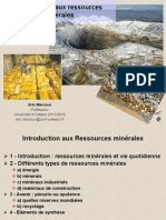 Ressources Minerales