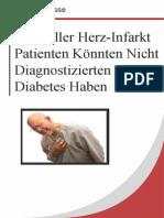 10% Aller Herz-Infarkt Patienten Könnten Nicht Diagnostizierten Diabetes Haben