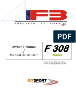 Dallara f308 Owners Manual 2013 Aprob