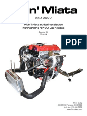 All_turbos,Flyin' Miata Turbo Installation | Turbocharger