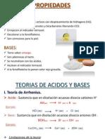 Ppt Acidos y Bases