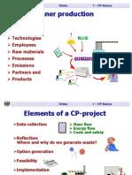 Producción Mas Limpia (Cleaner Production)