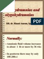 Polyhydramnios and Olygohydramnios
