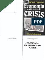 Economía en tiempos de crisis por Domingo Cavallo