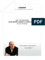 Les 12 Principes Pour Mettre l'Argent à Votre Service by Livrebank