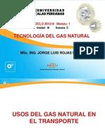 Usos Del Gas Natural en El Transporte