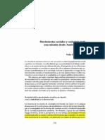 Bobes, C. Movimientos Sociales y Sociedad Civil Una Mirada Desde América Latina, Estudios Sociologicos, V. 20, No. 59 (Mayo-Ago) p. 371-386.