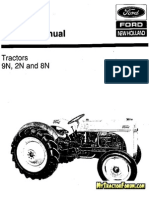 9N 2N 8N New Holland Service Manual