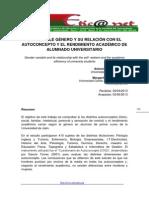 Dialnet LaVariableGeneroYSuRelacionConElAutoconceptoYElRen 4406545 Alciade