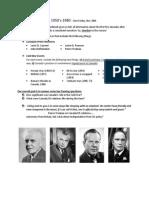 Cold War Timeline