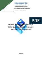 Manual Diretrizes Tecnicas Elaboracao TCC Civil OFICIAL