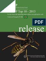 OWASP Top 10 - 2013 Brazilian Portuguese