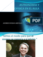 Astronomia y Astrofisica en El Aula 2014