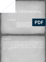 Cohete Experimental
