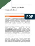 El Arte de Definir Qué Es Arte _ Florencia Magaril