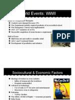 timeline presentation- 1940s