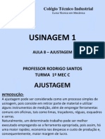 Aula 7 Usinagem - Metrologia
