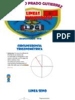 Variacion de La Linea Seno y Coseno