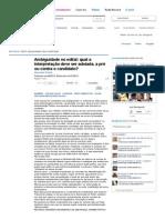 Edital de Concurso Público Deve Ser Interpretado a Favor Da Administração Ou Do Candidato_ - Artigos - Jus Navigandi
