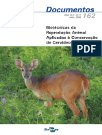 Biotecnicas Da Reproducao Animal Aplicadas a Conservacao de Cervideos (1)