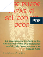 No se puede tapar el sol con un dedo – Luis de Guerrero-Osio y Rivas