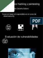 2.- Evaluacion de Vulnerabilidades
