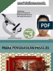 PPH (pajak Penghasilan) PASAL 21