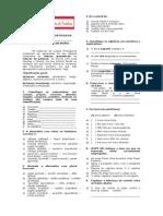 Atividade de Língua Portuguesa Sobre Classes Gramaticais