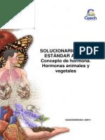 (11)2014 Solucionario Guía Concepto de Hormona. Hormonas Animales y Vegetales