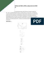 Patente.La oxidación catalítica de SO2 a SO3 y absorción de SO3 en ácido sulfúrico.docx