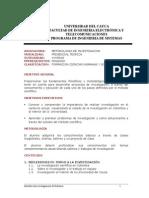 2003-01-16 Contenido Metodología Investigación