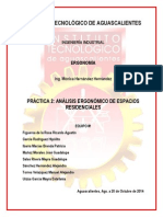 Práctica 2 Análisis Ergonómico de Espacios Residenciales