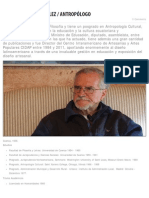Claudio Malo González _ Antropólogo - Diseño en Ecuador_ Haremos Historia