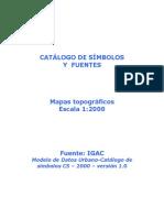 Catalogo Simbolos Fuentes