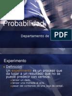 probabilidad presentación