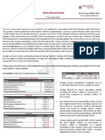 Genghis Capital - Daily Market Report - 4th November 2014