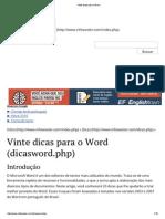 Vinte dicas para o Word.pdf