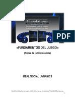 RSD - Fundamentos Del Juego