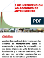 IM - 1.2 Niveles de Mantenimiento - 2014