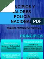 Principios y valores policia nacional