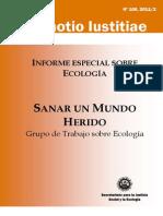 Ecologia Sanar Un Mundo Herido