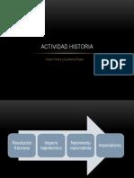 Actividad Historia